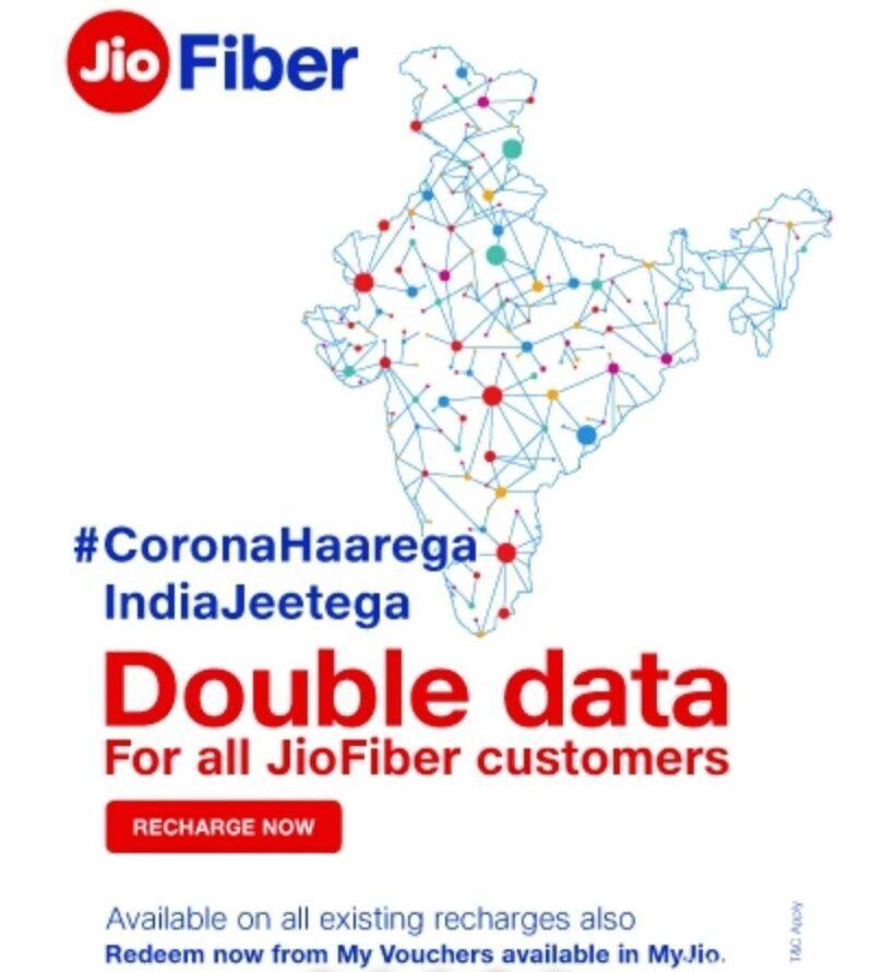 jio fiber all over india